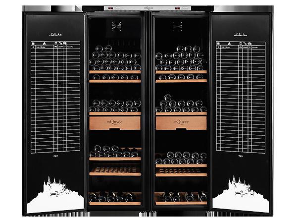 mQuvée wine cabinet – Grand Cru 1200 - mQuvee.com