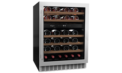 mQuvée built-in wine cooler – Wine Cave 60D Stainless