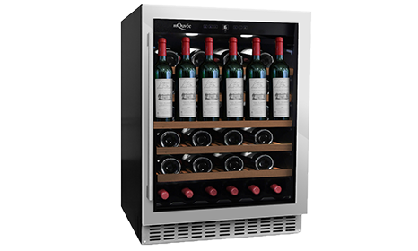 mQuvée built-in wine cooler – Wine Cave 60S Fullglass White